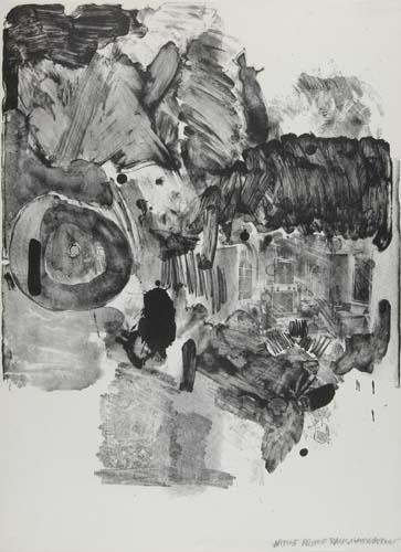 Robert Rauschenberg-Robert Rauschenberg - Visitation II-1965
