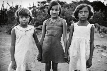 Sebastiao Salgado-Brasil (Three Young Girls)-1980