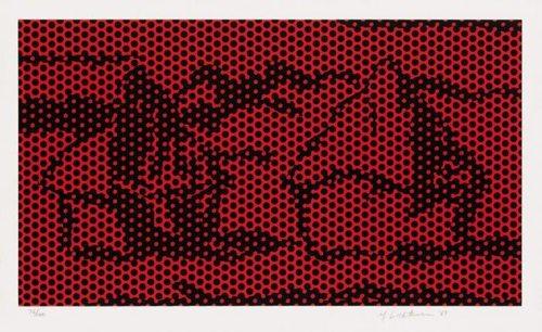 Roy Lichtenstein-Haystack #6-1969
