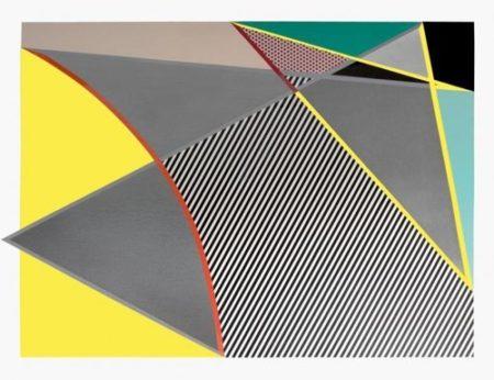 Roy Lichtenstein-Imperfect 67 5/8 x 91 1/2-1988