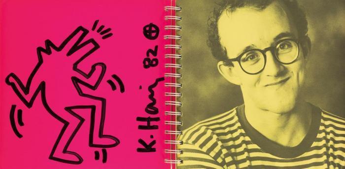 Keith Haring-Keith Haring - Dancing Dog-1982