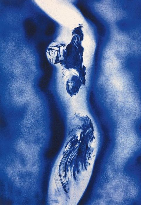 Yves Klein-Anthropometrie ANT 148-2001