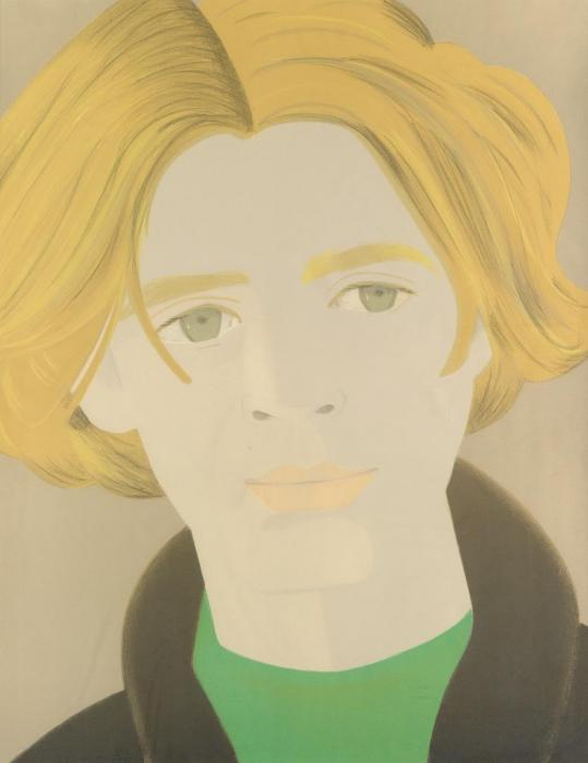 Alex Katz-Homage to Frank O'Hara: William Dunas (Maravell 42)-1972