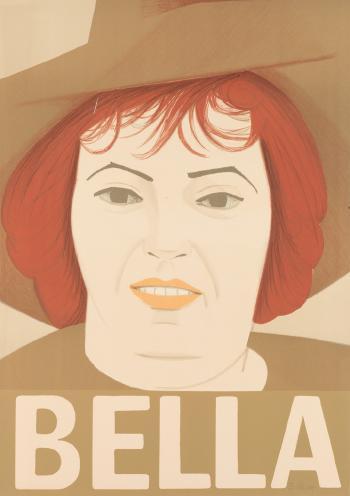 Alex Katz-Bella (Maravell 41)-1972