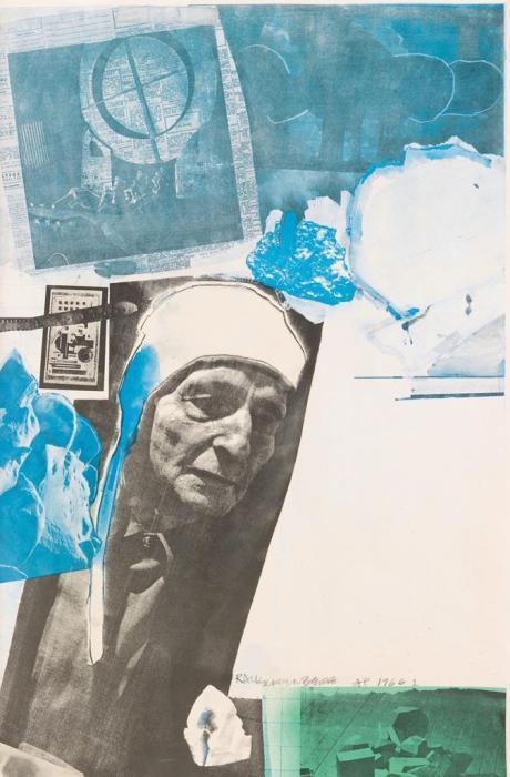 Robert Rauschenberg-Robert Rauschenberg - Homage to Frederick Kiesler-1967