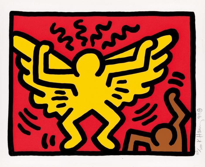 Keith Haring-Keith Haring - Pop Shop IV-1989