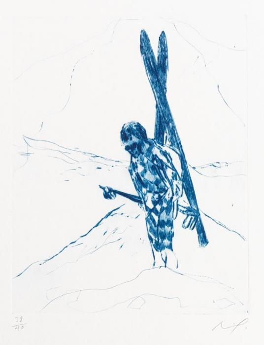 Peter Doig-Alpiniste (The Wonders of Ski-ing)-2007