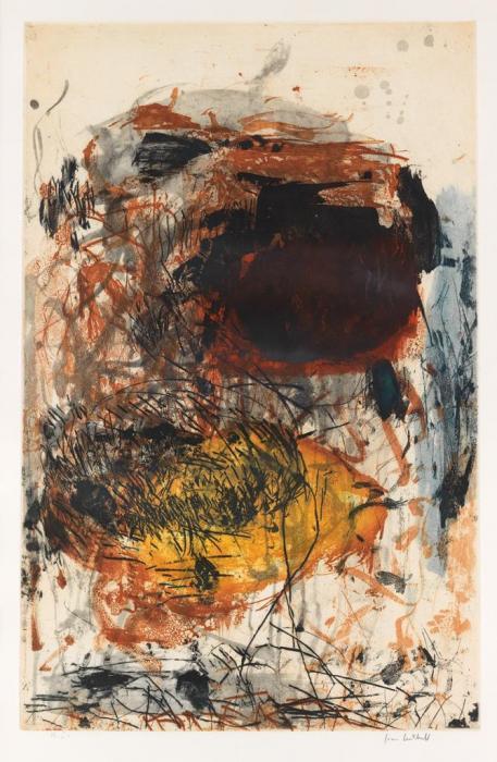 Joan Mitchell-Sunflower III-1972