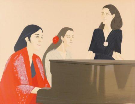 Alex Katz-Song (Maravell 126)-1981