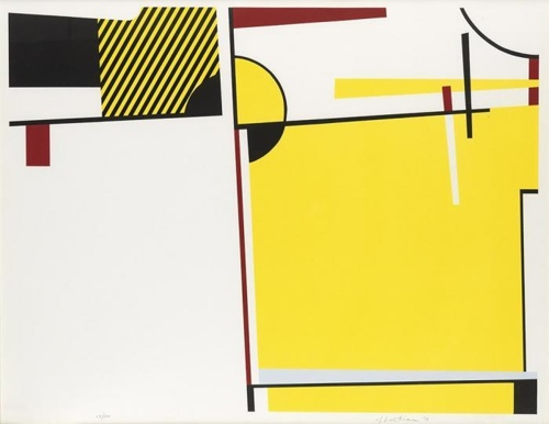 Roy Lichtenstein-Bull VI (from Bull Profile Series)-1973