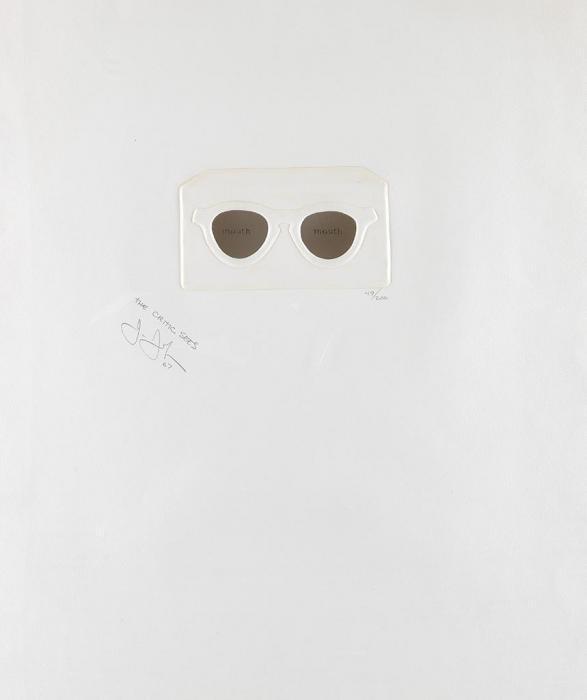 Jasper Johns-The Critic Sees-1967