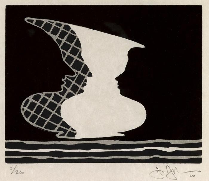 Jasper Johns-Sun on 6-2000