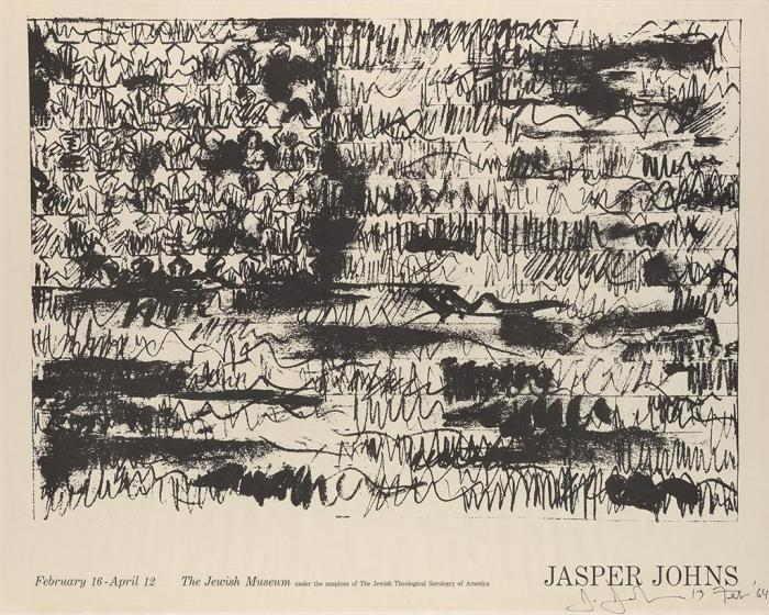 Jasper Johns-Flag, 'The Jewish Museum'-1964