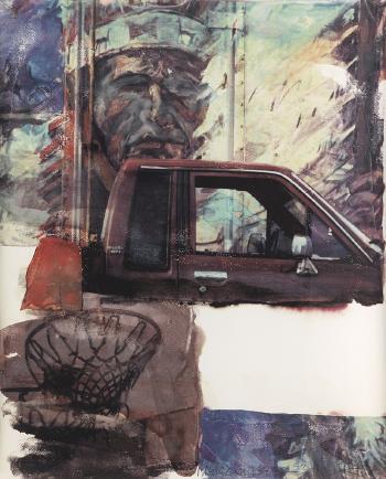 Robert Rauschenberg-Robert Rauschenberg - American Indian-2000