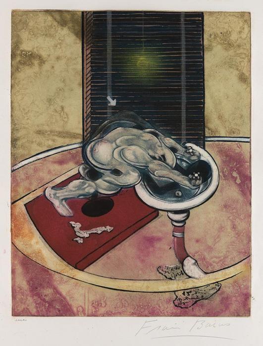 Francis Bacon-Man at a Washbasin-1978