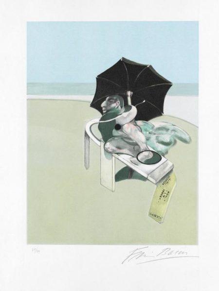 Francis Bacon-Metropolitan Triptych: Right Panel-1981