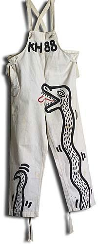 Keith Haring-Keith Haring - Serpent Overalls-1988