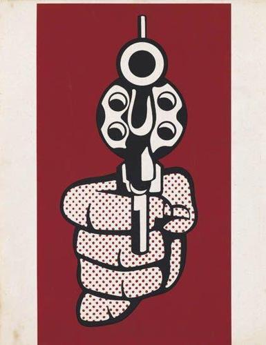 Roy Lichtenstein-Pistol-1968