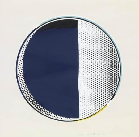 Roy Lichtenstein-Mirror #3-1972