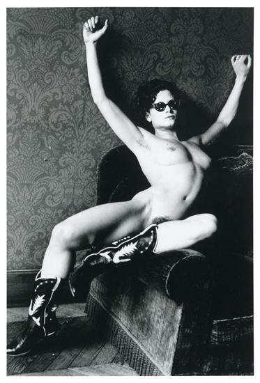 Helmut Newton-Lisa Lyon at Home-1981