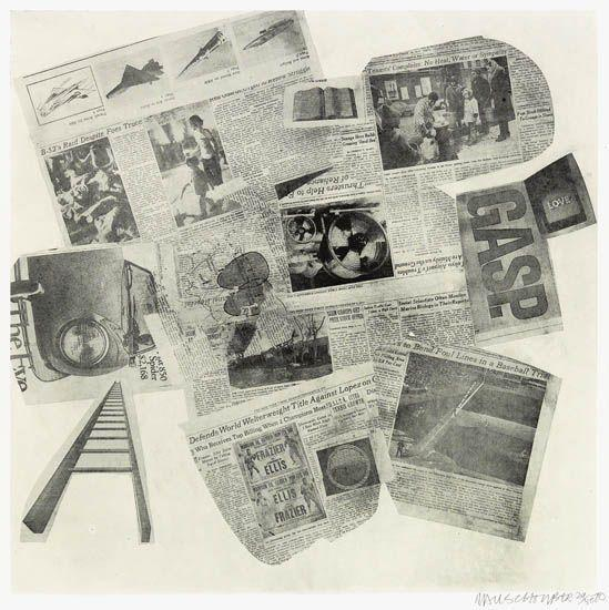 Robert Rauschenberg-Robert Rauschenberg - Features from Currents (Foster 148)-1970