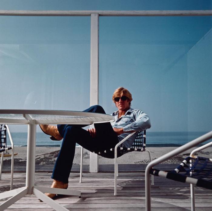 Annie Leibovitz-Robert Redford, Malibu, California-1980