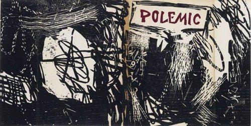 Roy Lichtenstein-Untitled (Illustration for Polemic Magazine)-1957