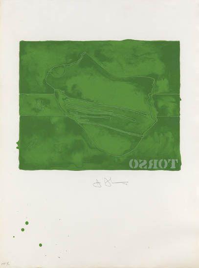 Jasper Johns-Torso-1974