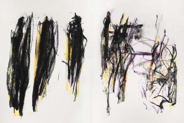 Joan Mitchell-Trees II-1992
