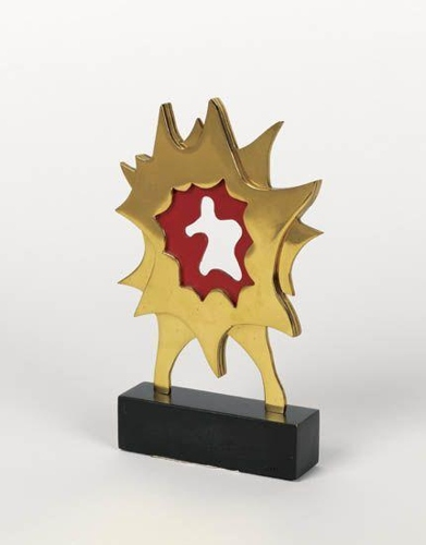 Roy Lichtenstein-Explosion (New York state Governors Arts Award)-1996