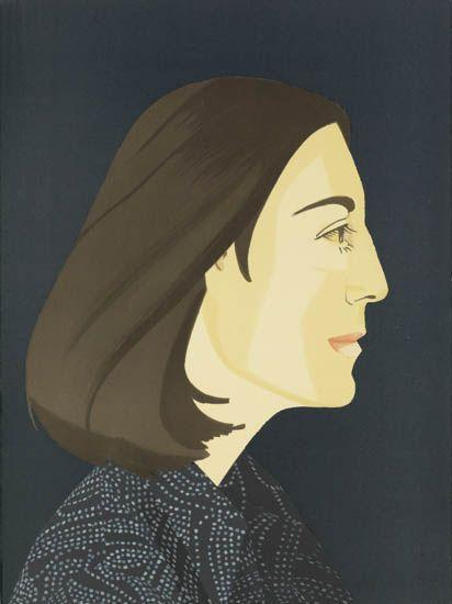Alex Katz-Ada Four Times (Maravell 117-120)-1980