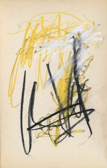 Joan Mitchell-Sketchbook-1954