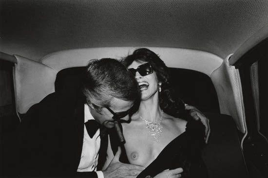 Helmut Newton-By-product of an advertising sitting-1973