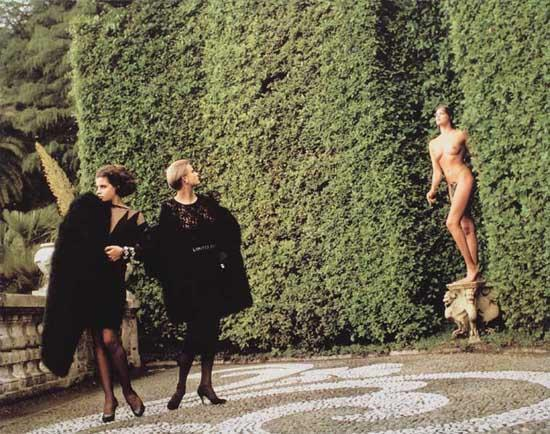 Helmut Newton-Another World...of Dressing-1983