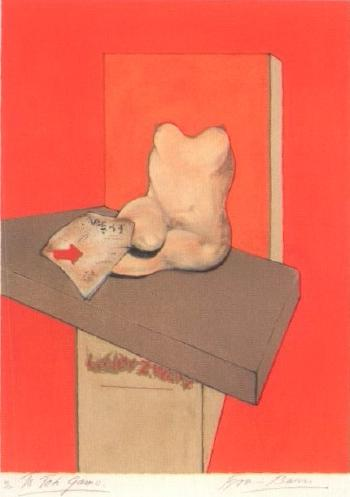 Francis Bacon-Study of the Human Body, from a Drawing by Ingres-1982