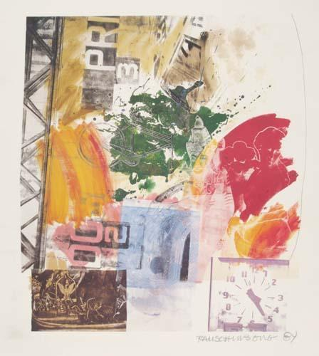 Robert Rauschenberg-Robert Rauschenberg - Untitled-1984