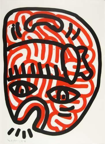 Keith Haring-Keith Haring - Ludo 2-1985