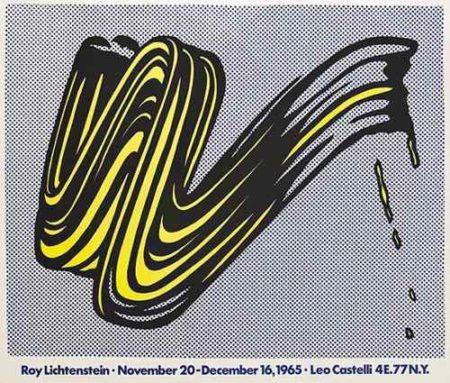 Roy Lichtenstein-Brushstroke-1965