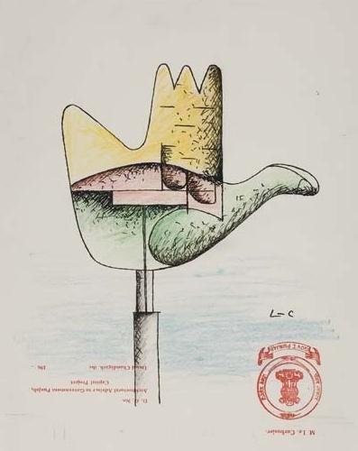 Le Corbusier-La main ouverte-1965