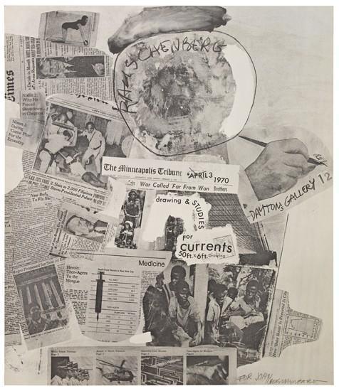 Robert Rauschenberg-Robert Rauschenberg - Dayton's Gallery 12 Poster-1970