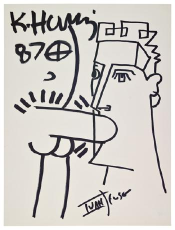 Keith Haring-Keith Haring - Blow Job-1987