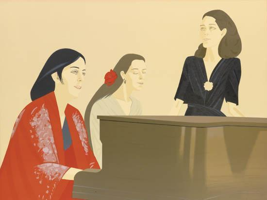 Alex Katz-Song (Maravell 126)-1981