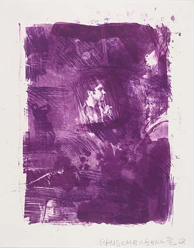 Robert Rauschenberg-Robert Rauschenberg - Flower Re-Run, from Reels (B + C)-1968
