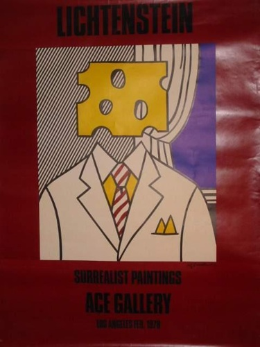 Roy Lichtenstein-Surrealist Paintings - Ace Gallery - Los Angeles-1978