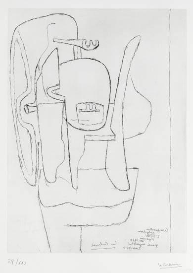 Le Corbusier-Sculpture.-1965