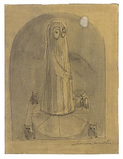 Leonora Carrington-Veiled Figures-