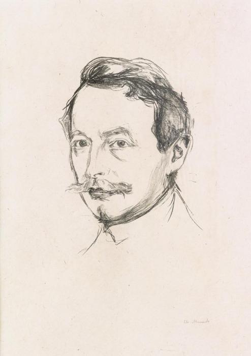 Edvard Munch-Dr. Max Linde-1902