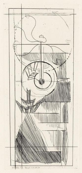 Marcel Duchamp-Coffee Mill from Du Cubism-1947