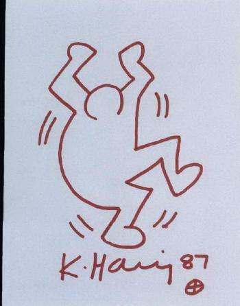 Keith Haring-Keith Haring - Haring Man-1987