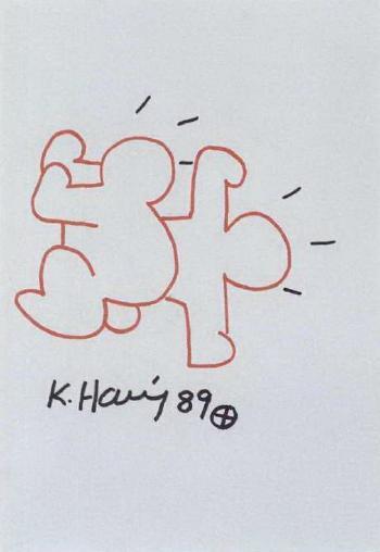 Keith Haring-Keith Haring - Babies-1989